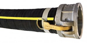 Rubber Water Discharge Hose in 2 ply and 4 ply reinforcement