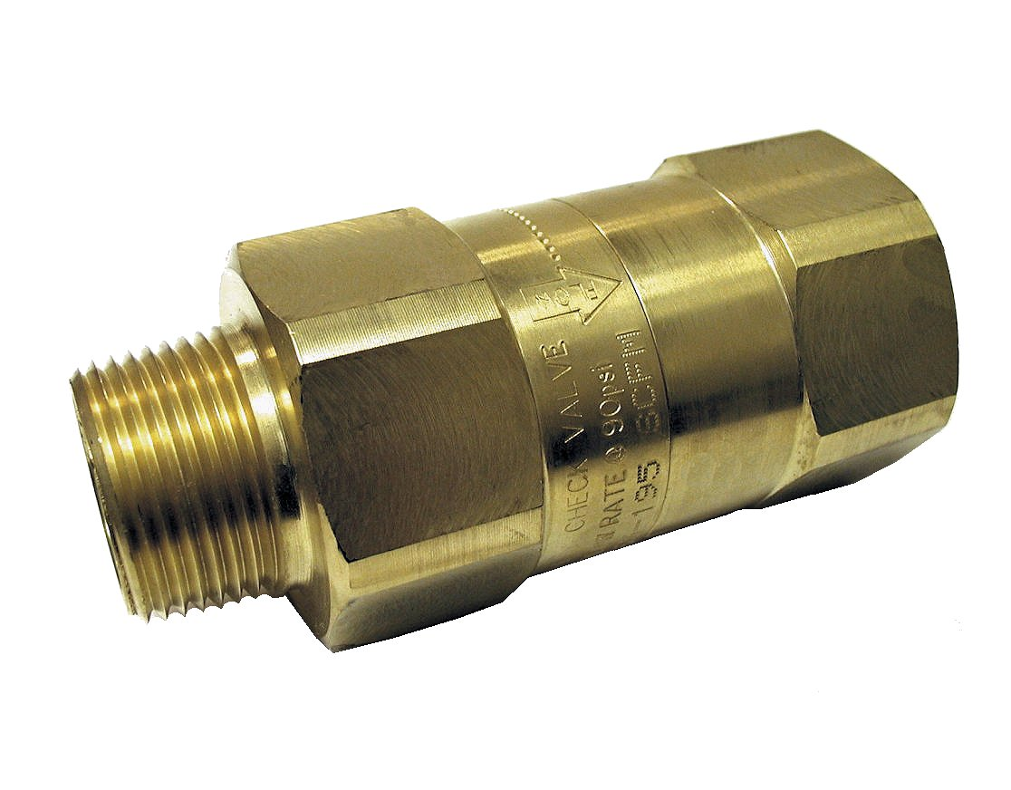 Pneumatic Tool Safety Check Valve