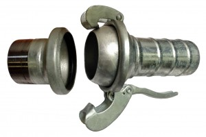 Ball and Socket Hose Coupling - Bauer Type