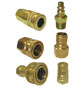 Quick Disconnect Hose Couplings, pneumatic and hydraulic style