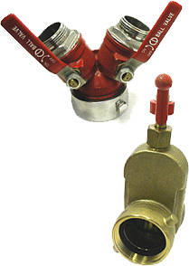 Hydrant Gate Valves and Wye Valves