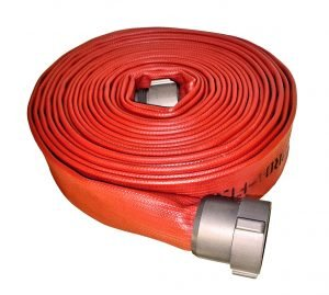 Dura-flow Fire Hose Assembly with rocker lug coupling
