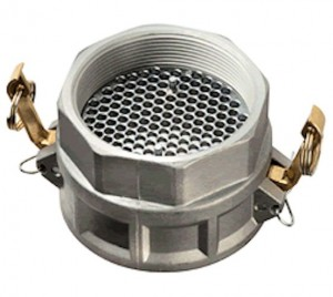 Cam Lock Coupling plate strainer