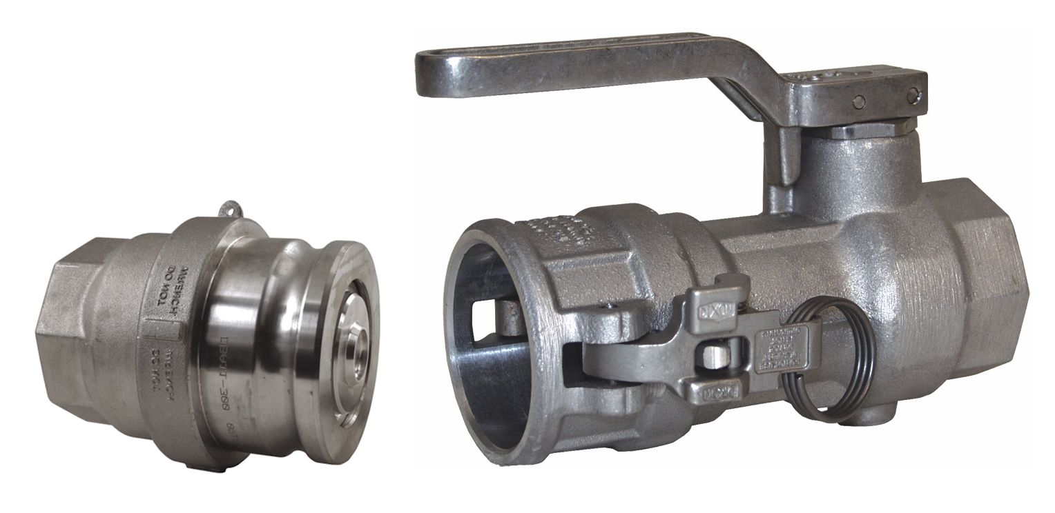 Dry Disconnect Cam and Groove Couplings