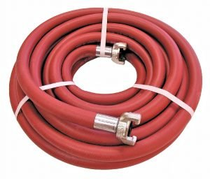 Jackhammer Hose assembly with chicago type hose couplings