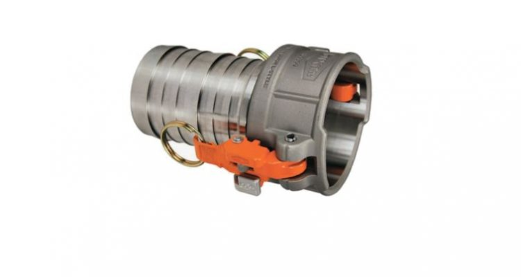 Stainless Steel Locking Cams with Hose Shank 4 Inch