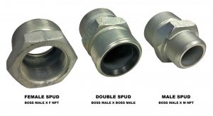 Boss Ground Joint Spud Adapters